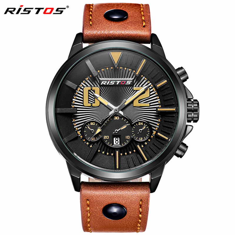 Men Sports Watches Top Brand Luxury Watch Men Waterproof Leather Strap Army Military Male Quartz Wrist Watch Relogio Masculin<br><br>Aliexpress