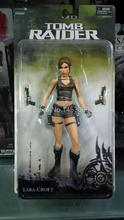 "Free Shipping NECA Tomb Raider Underworld Lara Croft PVC Action Figure 7"" 18CM New in Box MVFG118"