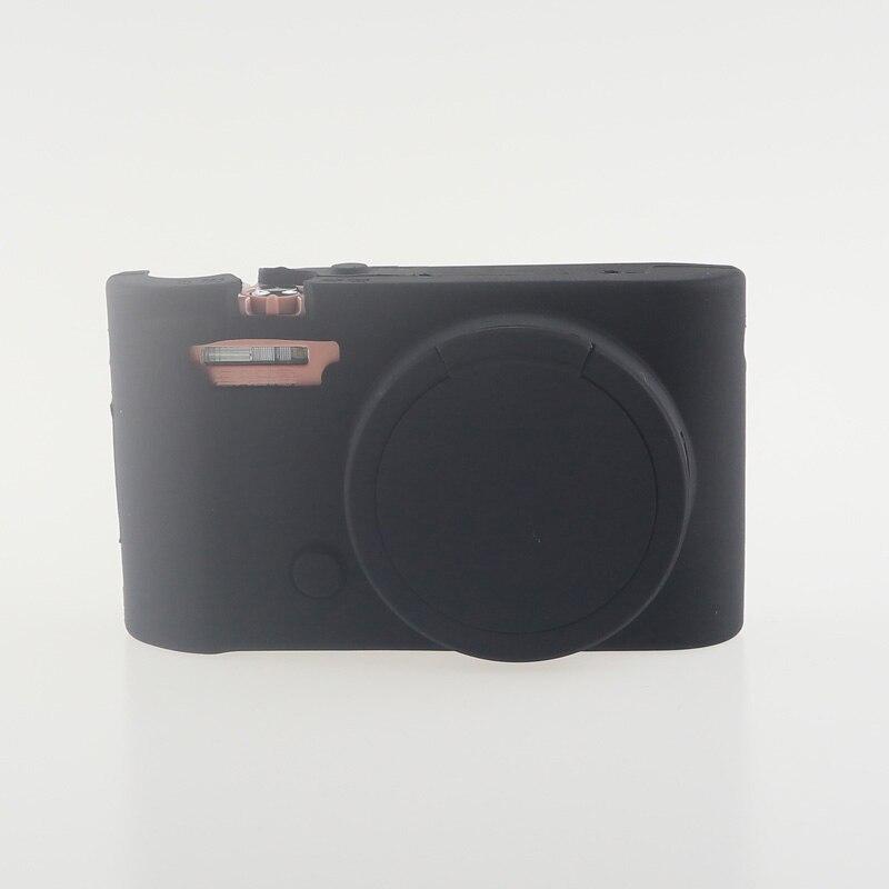Soft Silicone Rubber Camera Bag Protective Body Case for Casio ZR5000 5500 5300-17