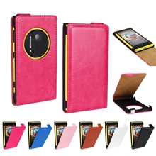 N1020 Stylish Retro Style Crazy Horse Flip Leather Anti-skidding Case For Nokia Lumia 1020 Mobile Phone Cover