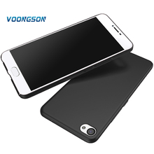 VOONGSON  Housing For Meizu U10 U20 Case 360 Full Protection Matte Hard Plastic Slim Phone Back Cover U 10 20 PC Cell Cases