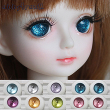 Toy Eyes BJD Acrylic Doll Eyes Mix Color Doll Accessories 1Pair 1/4 1/6 1/8 BJD Doll Eyes12mm 14mm 16mm 18mm Half Round Eyeball