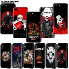 Мягкий чехол из ТПУ WEBBEDEPP Friday 13 для iPhone XS MAX XR X 8 7 6 6s 5 5S Plus(China)