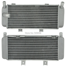 For Honda CRF450R 2005 2006 2007 2008 CRF450 X CRF 450X 2005-2015 Motorcycle Parts Aluminium Cooling Radiator Left New