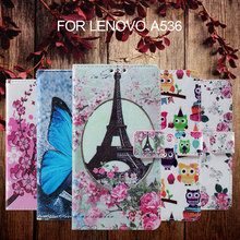 for Lenovo A 536 5.0 inch Colorized Bag Mobile Phone TPU+Leather Cover Bag Callfree  Leather Wallet Phone Case for lenovo a536