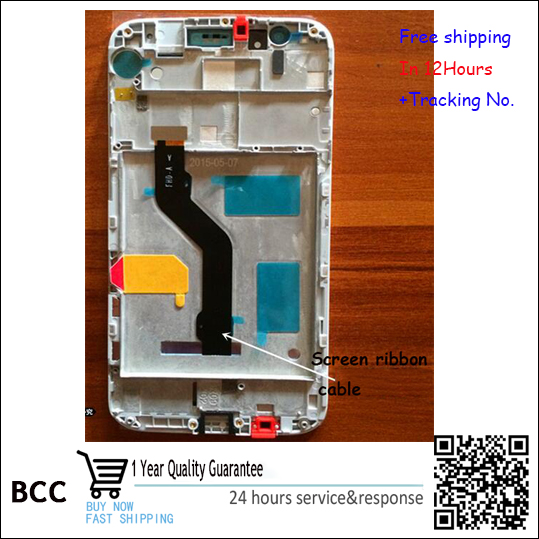 Test OK!White,Black or golden For Huawei maimang4 D199 G7plus LCD Display +Touch Screen Digitizer with frame  Free shipping<br>
