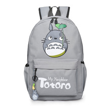 Anime Tonari no Totoro  Cosplay Totoro Cute Mens and Male Student Shoulder Bag Cartoon Backpack Travel Bag Child Birthday Gift