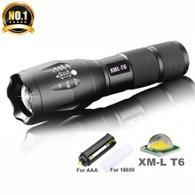 Promotion XM-L T6 3800LM Bicycle Light Torch Waterproof Zoomable LED Flashlight Bike Light Without Support