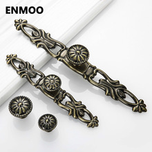 Antique Furniture Knobs bouton de meuble Cabinet Door Handle Knobs Simple Handles for Furniture Drawer Pulls puxadores YJ2251(China)