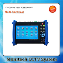 IPC-8600MOVTS 7''  Screen IP Camera CCTV Security Tester Monitor IPC Tester SDI Camera Test TDR /OPM/ MULTI/ VFL test ONVIF/WIFI