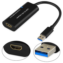 Top Deals 1080P USB 3.0 to HDMI Multi Monitor External Video Card Adapter For Windows MAC