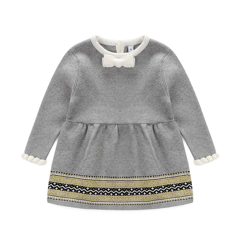 2015 winter Victoria fashion princess baby girl sweater dress knit dress girls knitwear party dress 6-9 month 1-4 years<br><br>Aliexpress