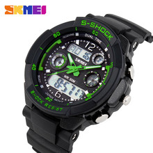 S SHOCK 2016 Luxury Brand Men Sports Watches Military Army Digital LED Quartz Watch Wristwatch Relogio Reloj SKMEI Clock Relojes