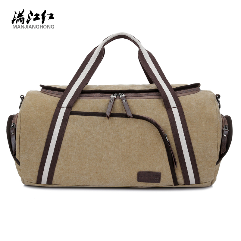 2016 Men Canvas Travel Handbag Bag Large Men Colors Handle Luggage Bags Large Thickening Canvas Bag 1315<br>