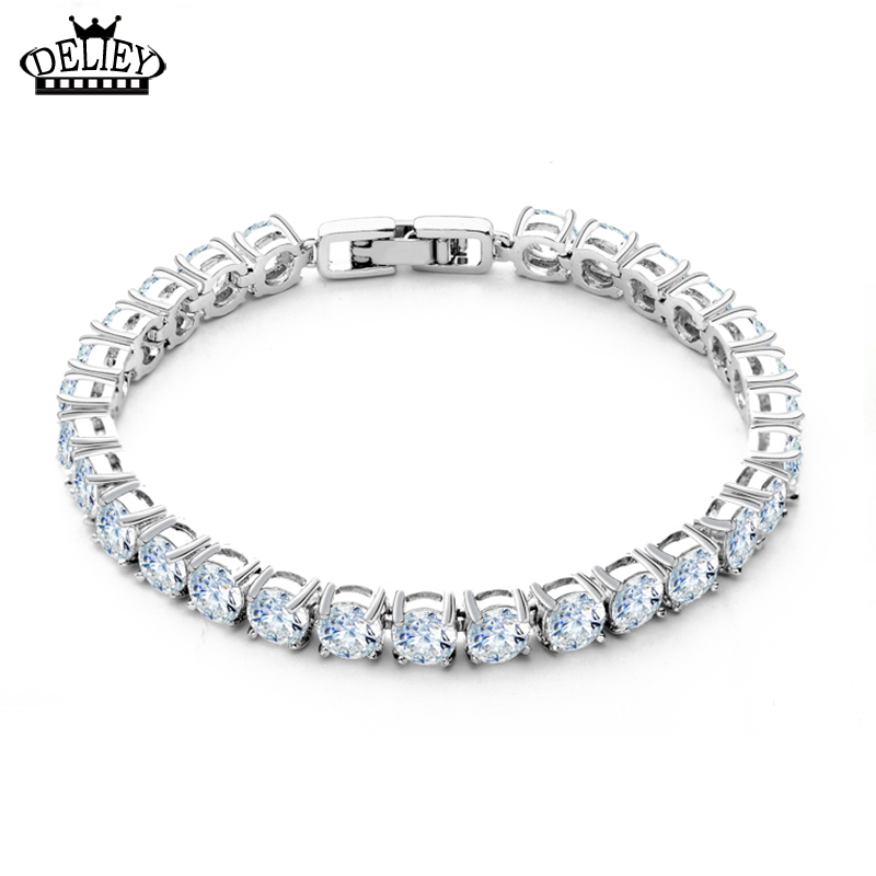 Free Shipping!! Luxury Female Bracelet with Shining Austrian Cubic Zircon Bracelet For Women Christmas Gift Luxury Bride Jewelry(China (Mainland))