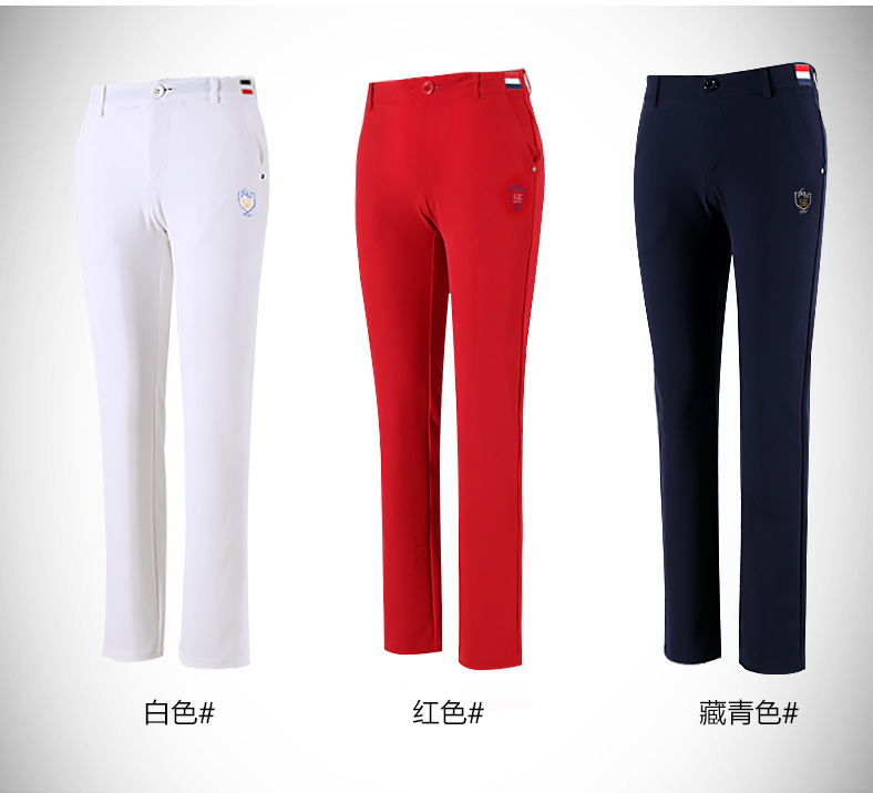 autumn women golf trousers sports elastic pants slim sportswear spring brand golf pants <br>