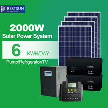 2000W solar panel kits solar power system for home solar energy products free energy solar electric high efficiency green energy