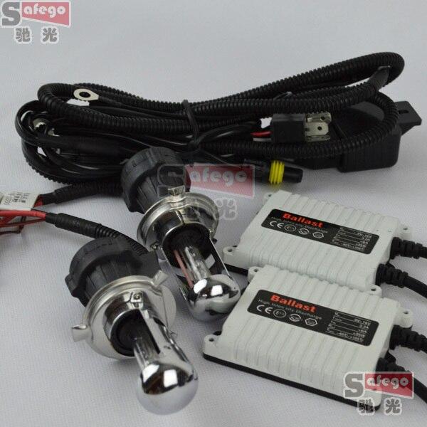 10sets AC 12V 35W h4 bixenon kit bixenon h4 kit 35w kit xenon h4 bixenon 4300k h4 h13 9004 9007<br>