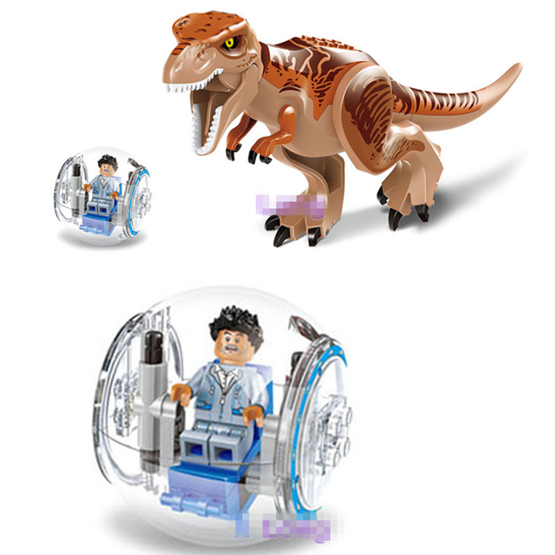 Dinosaurs Of Jurassic Park World Action Figure Toys, 2pcs/set Dinosaur Figures Model For Collection Kids Toy, Anime Brinquedos<br><br>Aliexpress