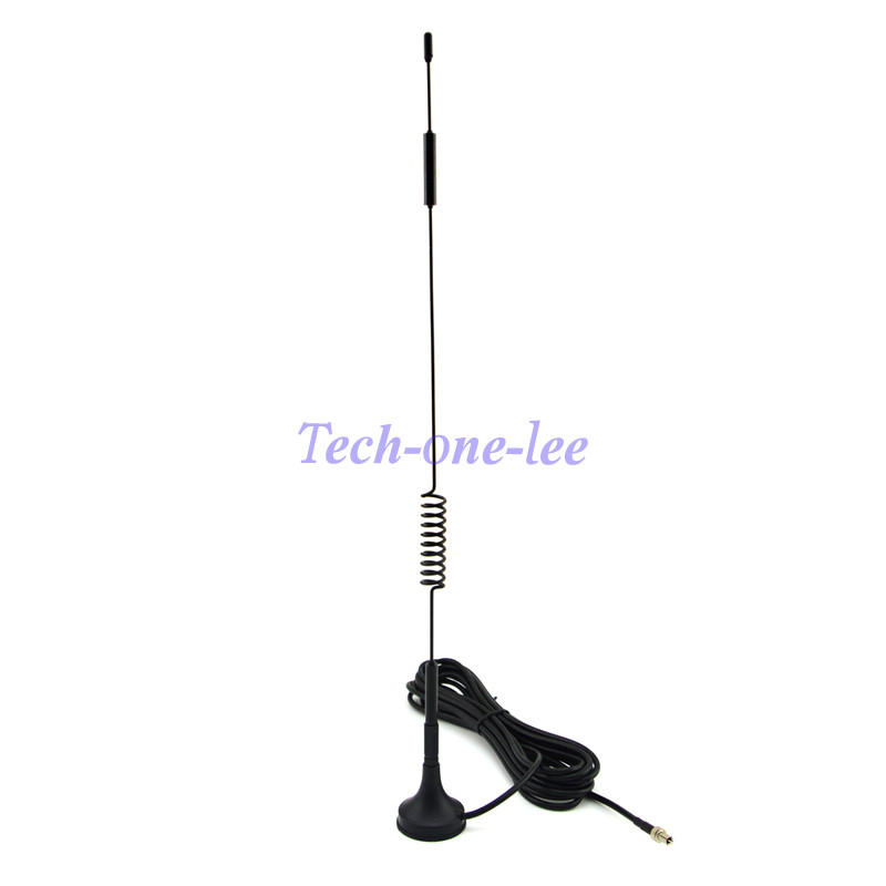 NEW 4G Antenna 7-8 dbi LTE Double Screw Aerial 698-960 Mhz with magnetic base TS9 Plug Male RG174 1M for Huawei E5372 E5375(China)