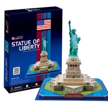 Development of intelligence,Educational toys,good quality,foam,emulational,gifts,paper model,Statue of Liberty,3D PUZZLE