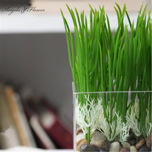 Free shipping 20pcs/lots Rustic flowers and plants artificial grass home decoration shoots
