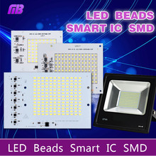 [Ming&Ben] SMD LED Lamps Chip Smart IC 220V 10W 20W 30W 50W 90W For Outdoor FloodLight Cold White/Warm White