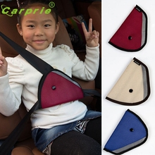 Car-styling seat belt adapter Baby Kids Car Safety Cover Strap Adjuster Pad Harness Seat Belt Clip jan11(China)