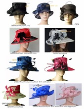 Wholesale Exclusive design church dress Sinamay Hat for wedding,kentucky derby,races,wedding,party,ascot,free shipping by EMS