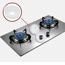 Kitchen Gas Swicher Protector Shield Gas Wearing 2Pcs Child Safegaurd Lock Kitchen Cooker Gas Oven Stove Knob Cover Guard Shield(China)
