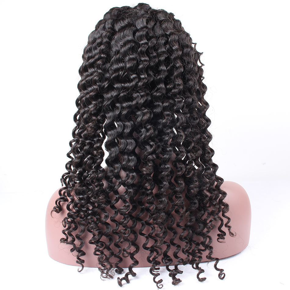 lace front human hair wigs for black women brazilian malaysian indian peruvian virgin hair   (13)