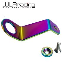 WLRING STORE- NEW HIGH QUALITY NEO CHROME Aluminum Radiator Stay 92-95 for honda Civic EG WLR-RS51CR