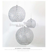 Minimalist Modern K9 Crystal Chandelier Bedroom Living corridor study Lighting Restaurant Crystal Ball Lamps