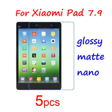 "5pcs Clear/Matte/Nano Phone Guard Protective Films for Xiaomi Xiomi Mi Pad 1 2 Mipad 1 2 7.9""/mi Max 6.4 Screen Protector Film"