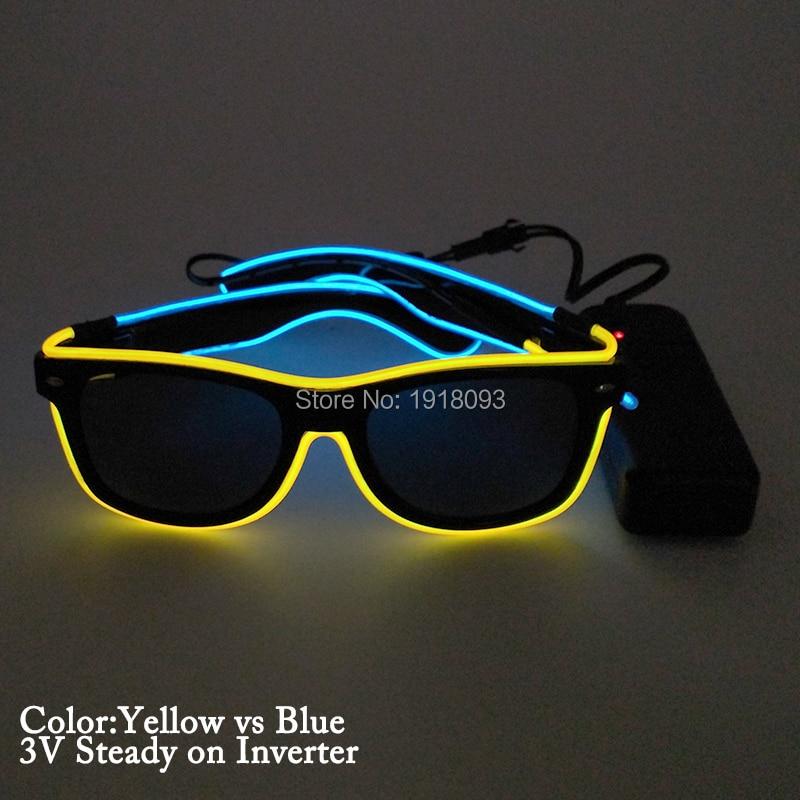 yellow blue