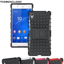 TOBOCLOO Heavy Duty Armor Slim Rugged Case Cover For Sony Xperia Z2 Z3 Z4 Z5 M4 M5 Compact X XA XA1 XZ Premium Ultra C5 C6 E4 E5