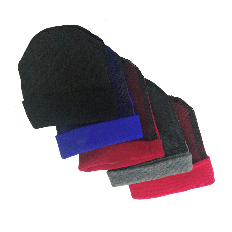 Volleyball Silhouette Men Womens Solid Color Beanie Hat Thin Stretchy /& Soft Winter Cap