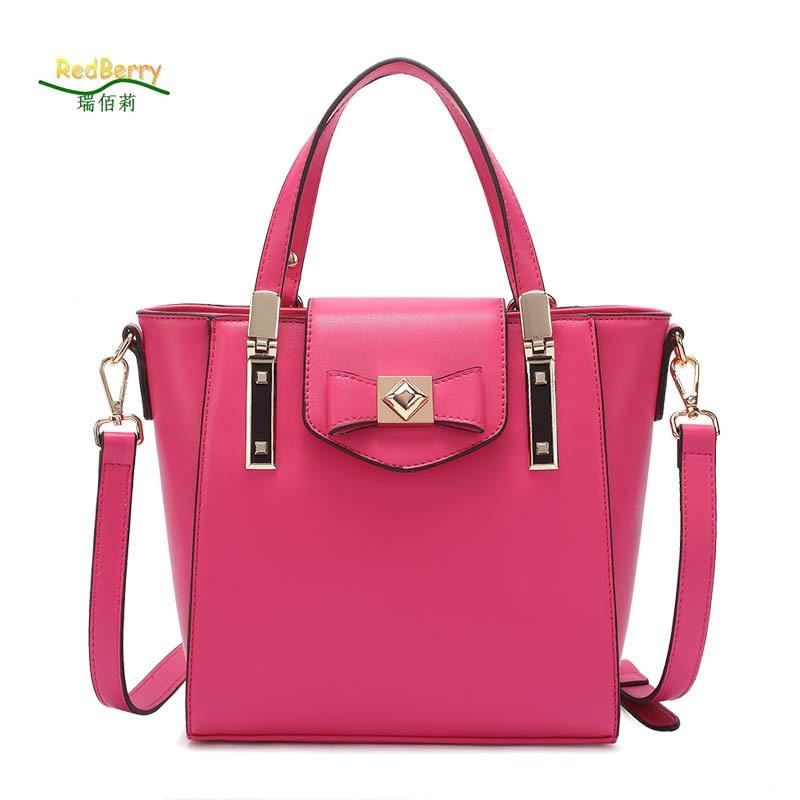 2017 Fashion Messenger bag PU bags new Shopping Tote Shoulder Crossbody Bags bow Bolsas Femininas Women Handbag<br><br>Aliexpress
