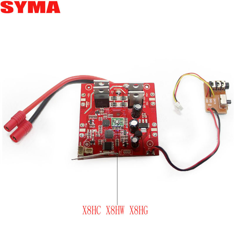 SYMA X8HC X8HW X8HG RC drone Quadcopter Parts MainReceiver Board/2.4G Receiver/PCB For syma  X8HC X8HW X8HG Parts Accessories<br><br>Aliexpress