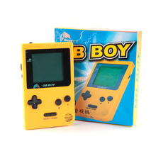 "best gift hot kong feng gb boy classic pocket portable gaming console 2 ""game with a black and white screen"