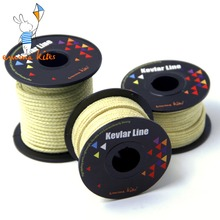 Kites Accessories 100-2000lbs Braided Kevlar Line Kite Line String Strong Multifunctional Fishing Line Camping Hiking Cord(China)