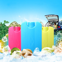 1 pcs Mini Ice Brick Freezer Tool Outdoor Travel Lunch Bag Box Cooler Cool Pack FG