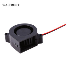 WALFRONT 1pcs Plastic Brushless Mini Cooling Fan Adjustable Cooling Tools Heat Sinks Cooler Low Noise Sleeve Printer Radiator(China)