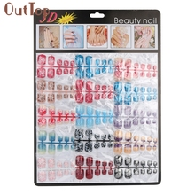 Pretty New 180pcs Mixed Set False Nail Toe Tips Artificial Fake Toe Nails Art Acrylic Manicure Gel Nail Toe Art Decorations