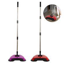 Stainless Steel Magic Broom Hand Push Sweepers Sweeping Machine Push Type Hand Push Sweepers Dustpan Household Cleaning Tools(China)