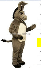 mascot costumes for adults christmas Halloween Outfit Fancy Dress Suit Free Shipping   horse donkey unicorn