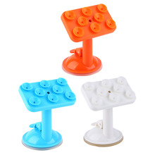 Silicone Sucker Mobile Phone Holder 360 Degree Rotating GPS Stand Holder Car Windshield Stand Mount Suction Cup
