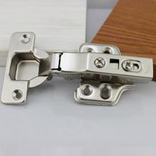 1pcs 35mm Soft Close Hydraulic Hinges Cabinet Kitchen Door Hinge Cup 3Sizes Full Overlay Half Overlay Insert Embed Hinges