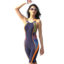 Backless design large size professional swimsuit for women slim curve thin swimwear swimming bodysuit one-piece suits #J41214(China)