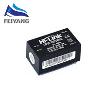 5pcs 220v 5V ac - DC isolated power supply module, HLK-5M05, switching step-down 5w power module(China)